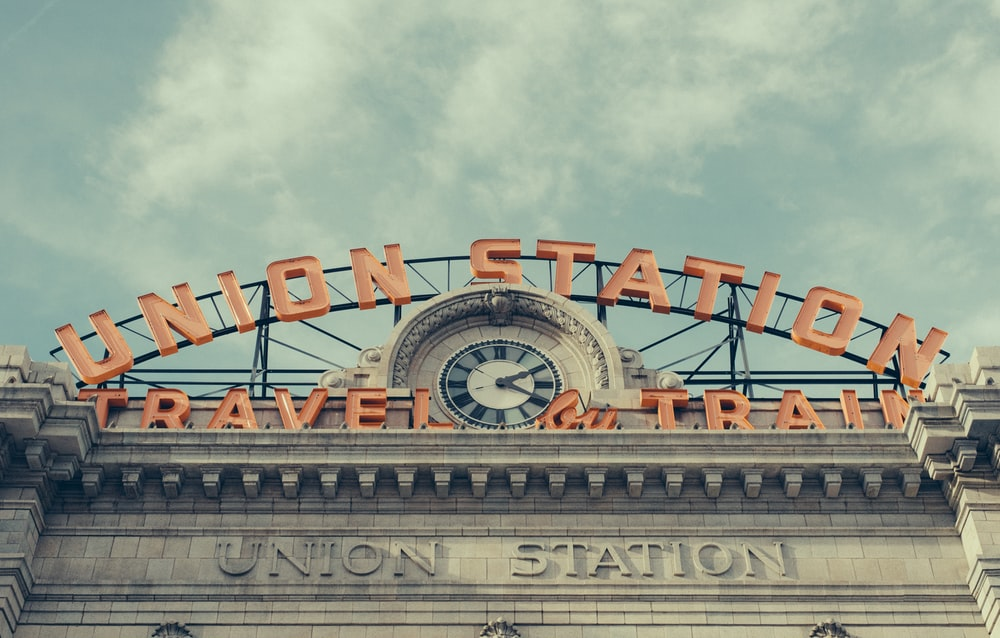 low angle photography of Union Station