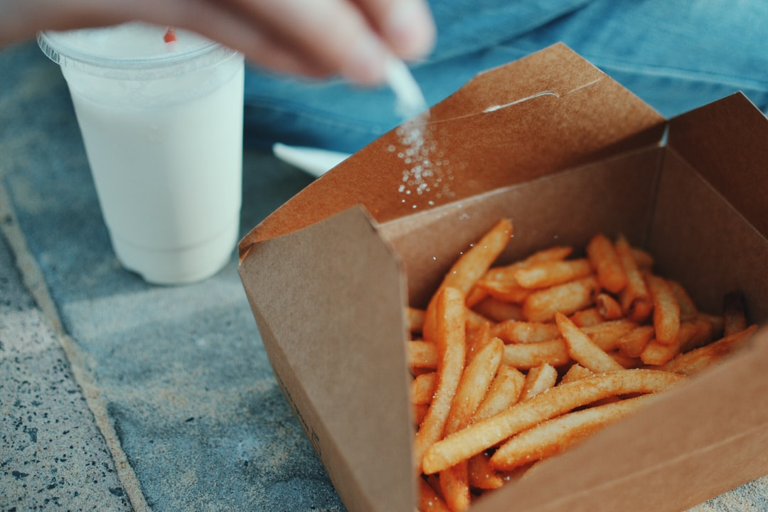 We haven't had real English chips for over a year, but the cardboard carton adds a splash of home. These chips and a milkshake were devoured at Watson's Bay Hotel, Sydney, whilst an eager seagull gave us the eyeball.
