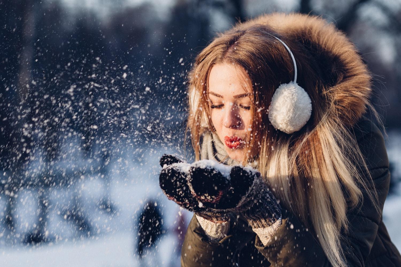 Protector solar en invierno