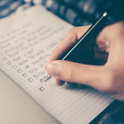 Hand-written plan