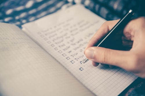 Failing to Keep a To-Do List