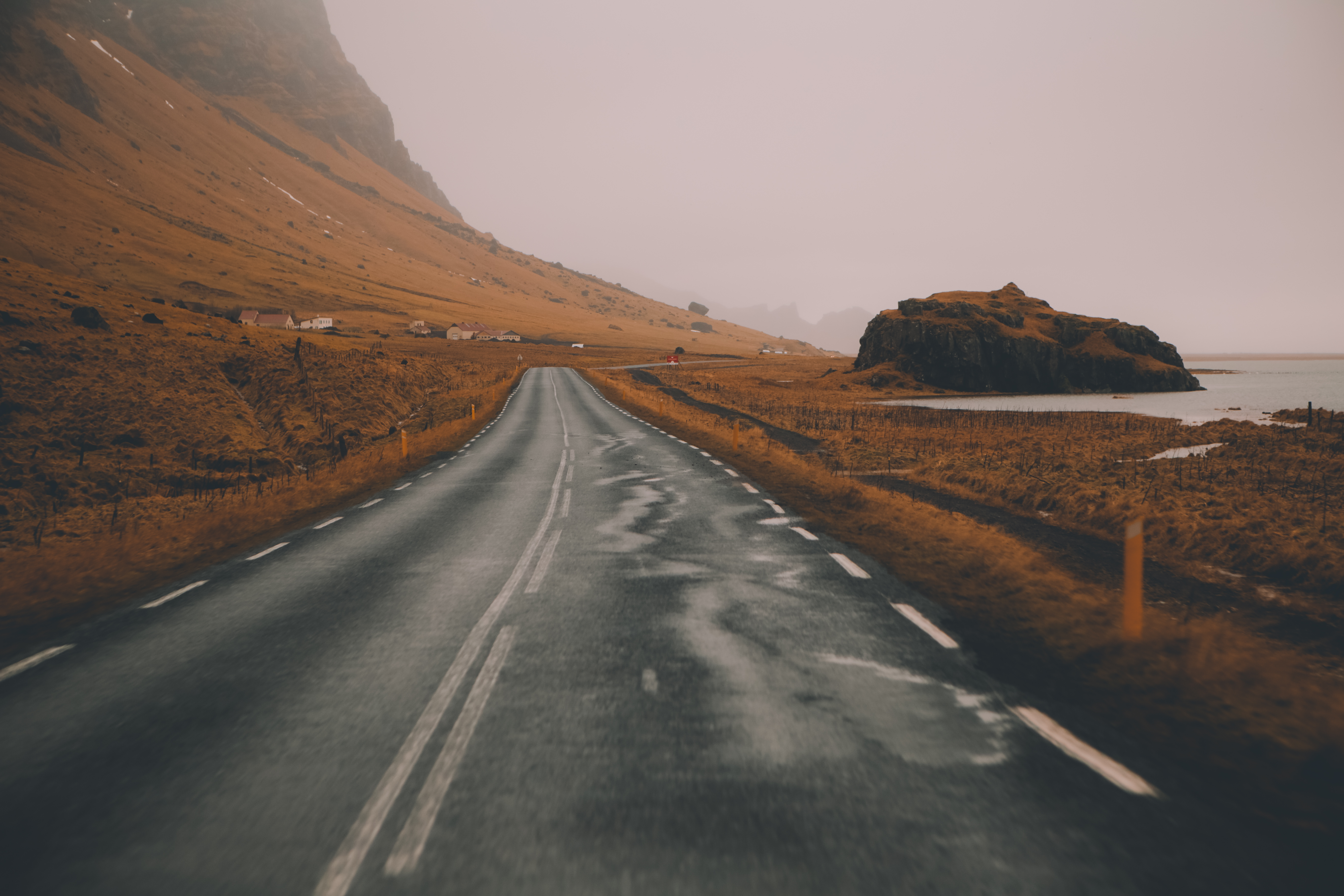 """""""The foggy storms made the light so perfect. I don\u2019t think I could have asked for a better day to shoot my favorite road on earth."""""""