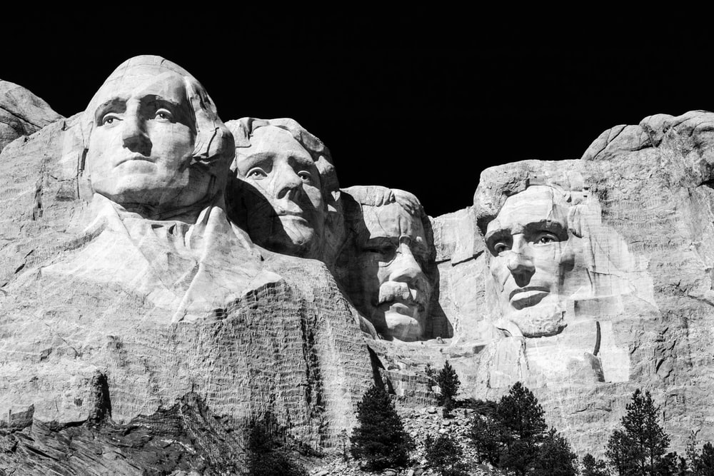 Mt. Rushmore during daytime