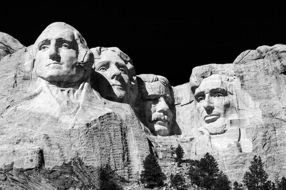 Mt. Rushmore during daytime