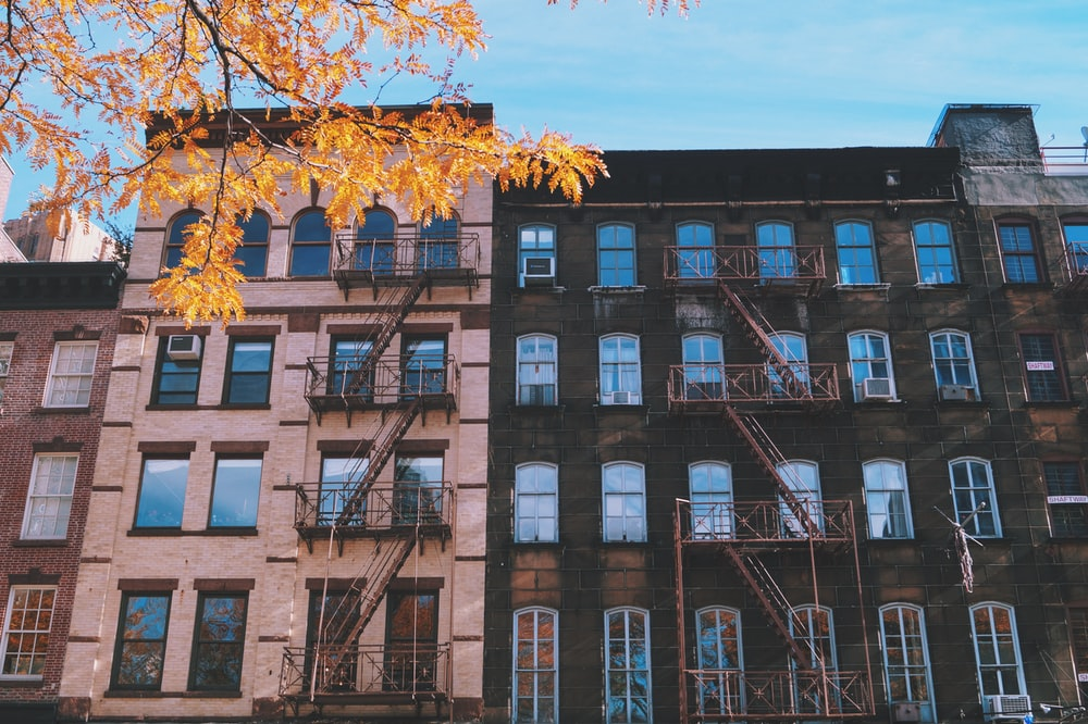 white and brown building during daytime