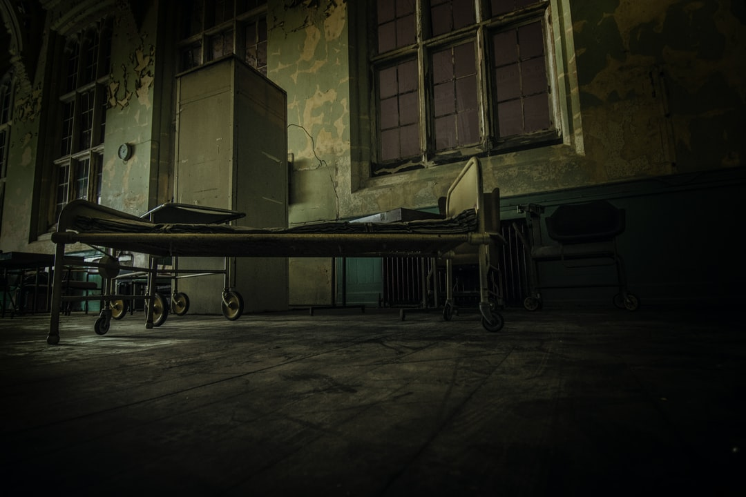 Took this whilst on a 'ghost hunt' at an abandoned asylum.