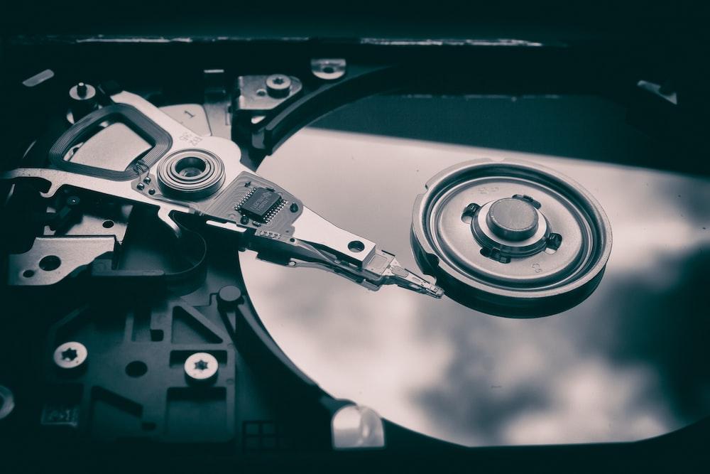 photo of optical disc drive