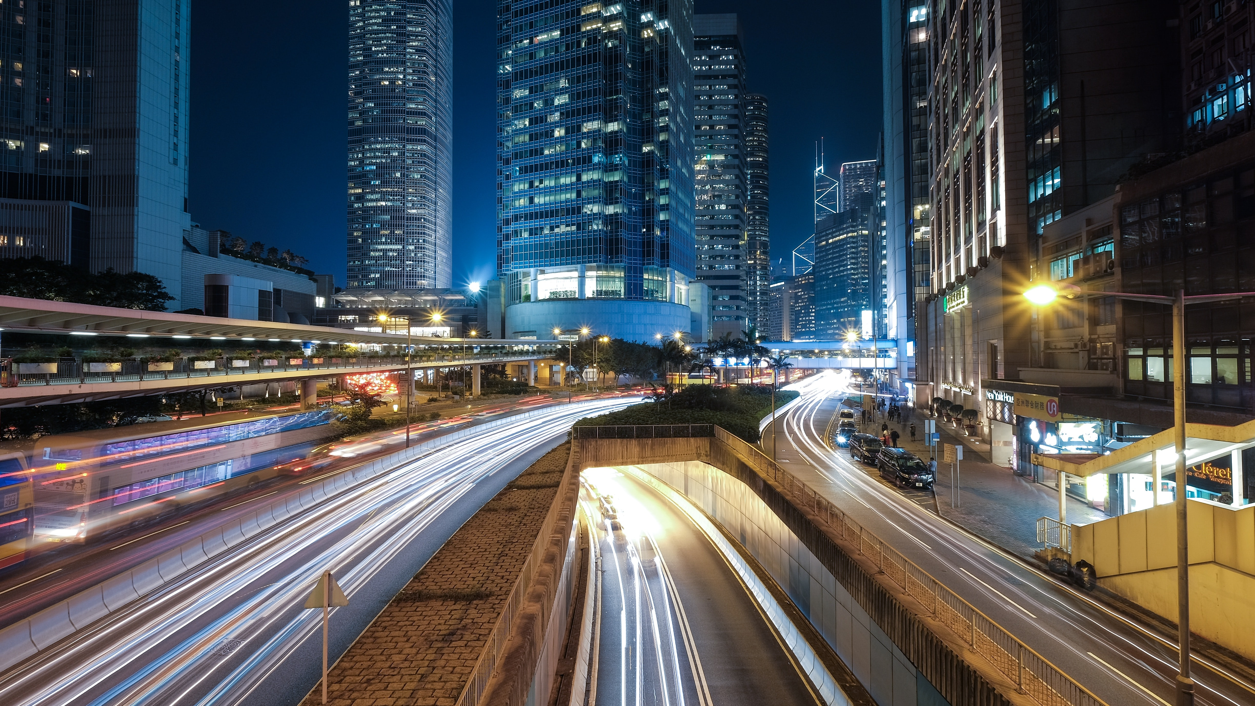 timelapse photography of cars in road during nighttime