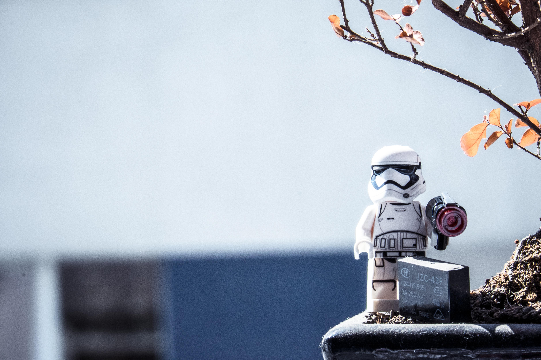 Star Wars Stormtrooper Lego mini fig