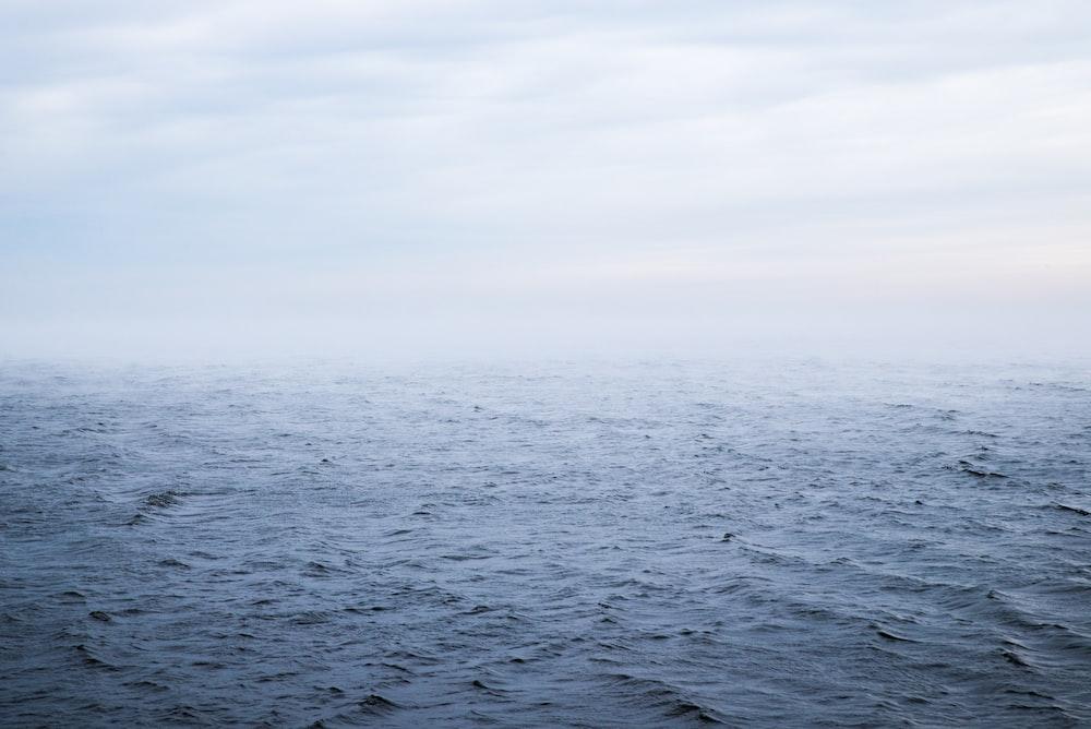 crystal blue sea