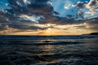 Taken at Kourion beach in late December.  Typical Cypriot weather in December meant it was difficult to get a lovely sunset, this time I was lucky.