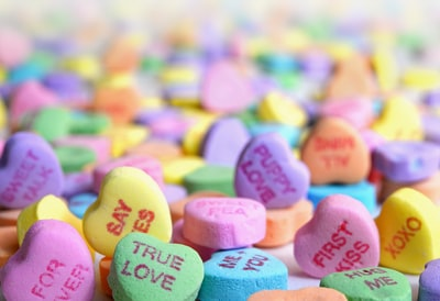 assorted candies valentines zoom background