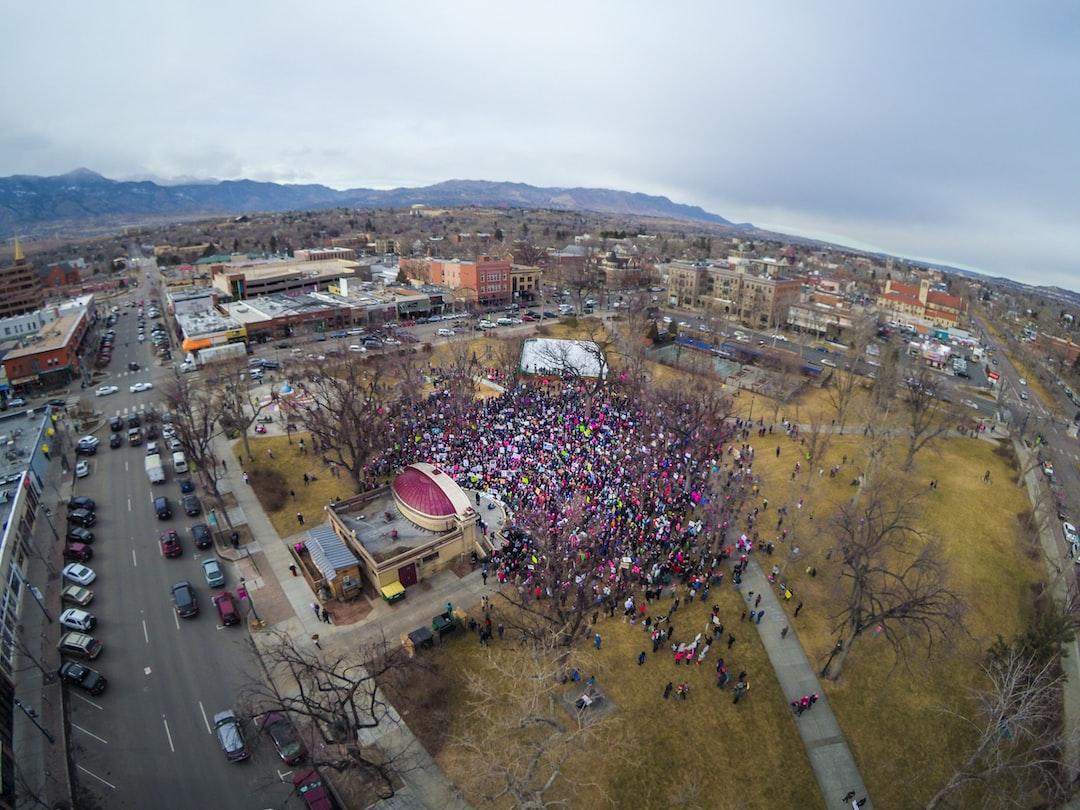Women's March in Colorado Springs, Colorado