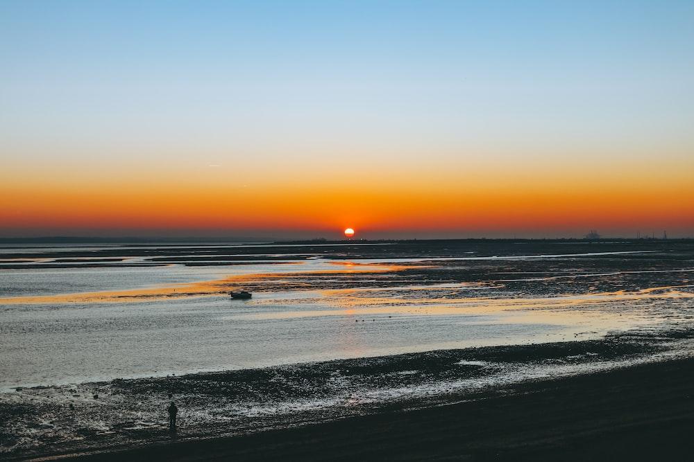 sea horizon during daytime
