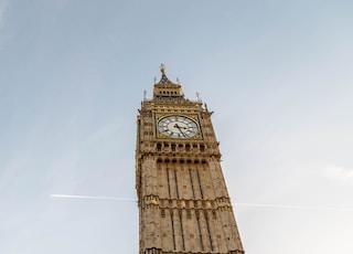 Big Ben under blue sky during daytime