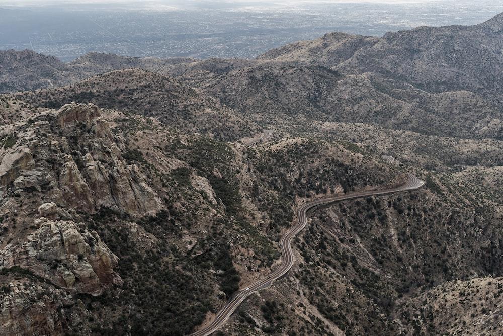 road on mountain pass