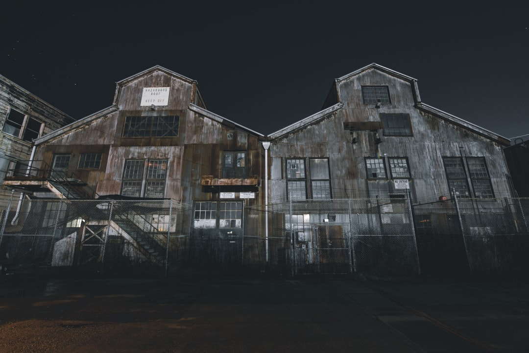 Freaky abandoned warehouses