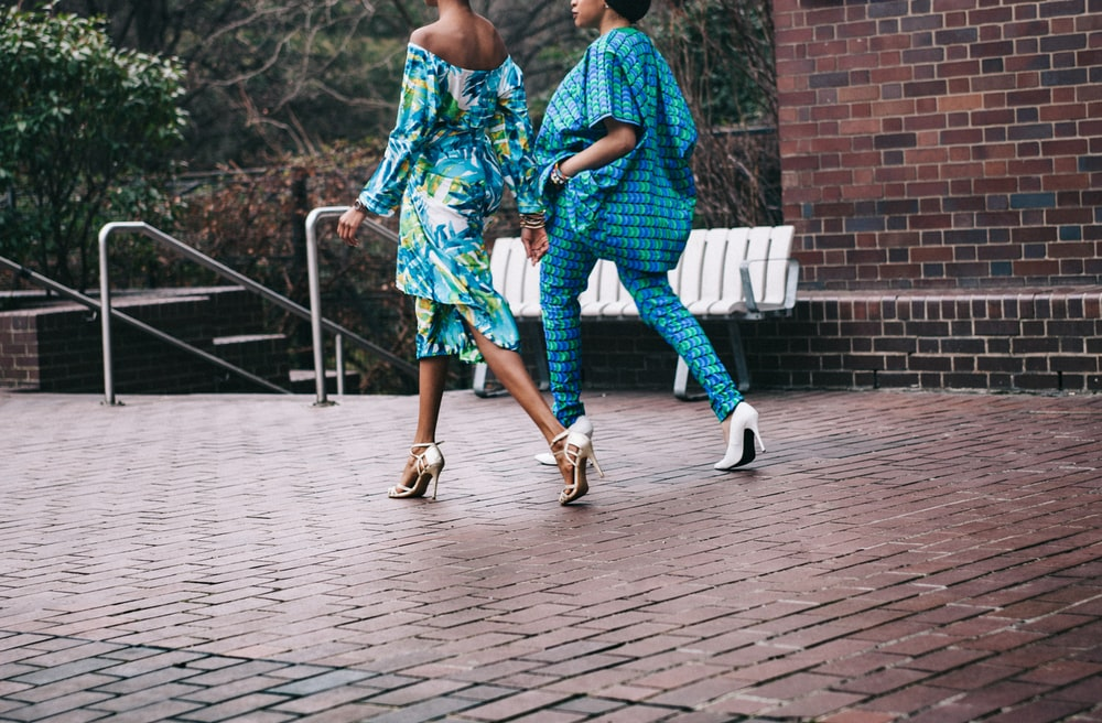 two women in teal romper pants, How Many Dresses Should You Have, ShoptheKei.com