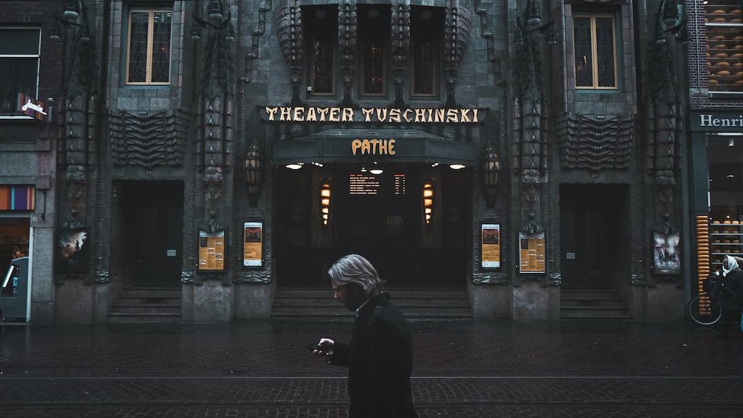 Pathé cinema - Amsterdam - Winter 16