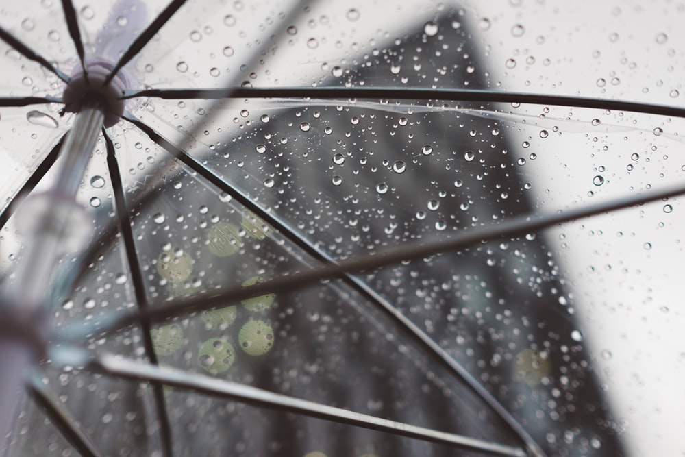 clear umbrella rain liverpool photo by freddie marriage