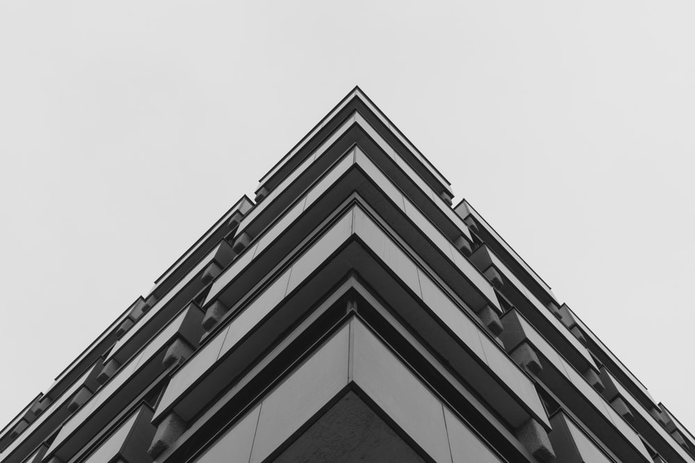 grey concrete building