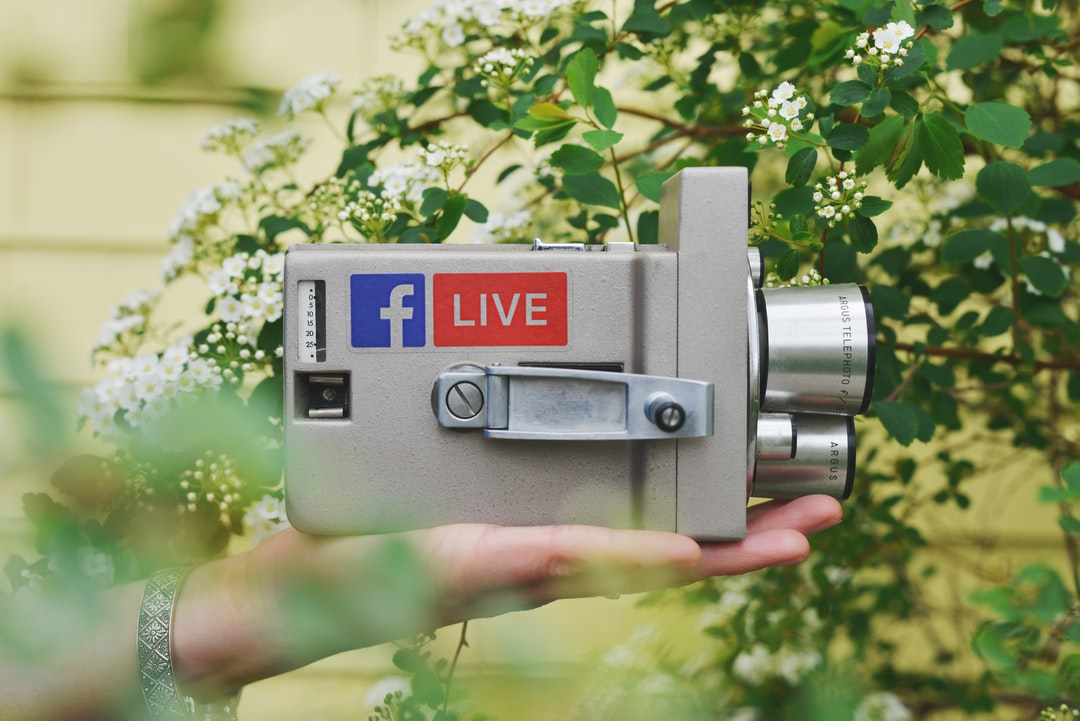 Sticker Mule Tip #2,524: Do not try using an old analog film camera to record your next Facebook Live video.