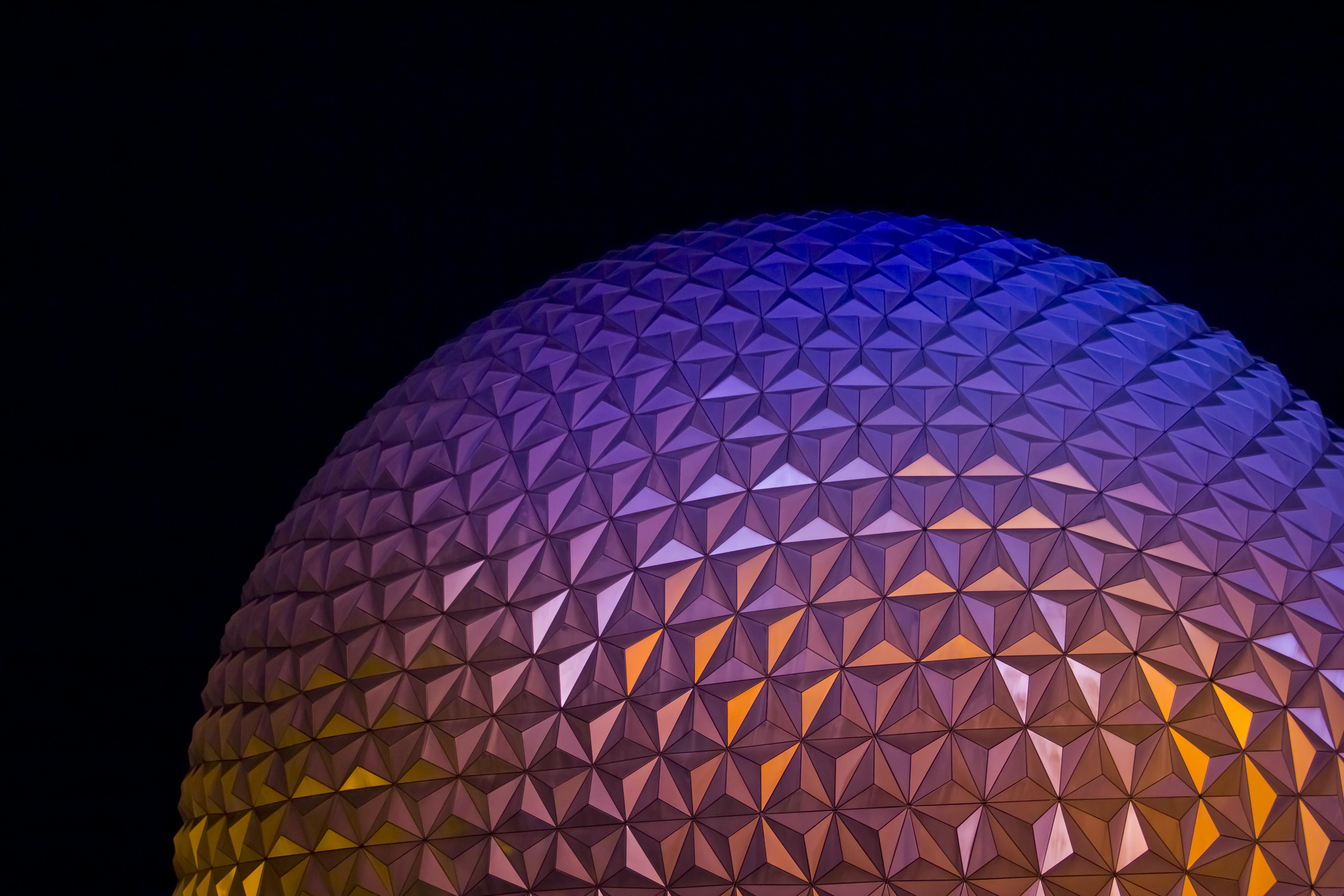 round grey dome architecture