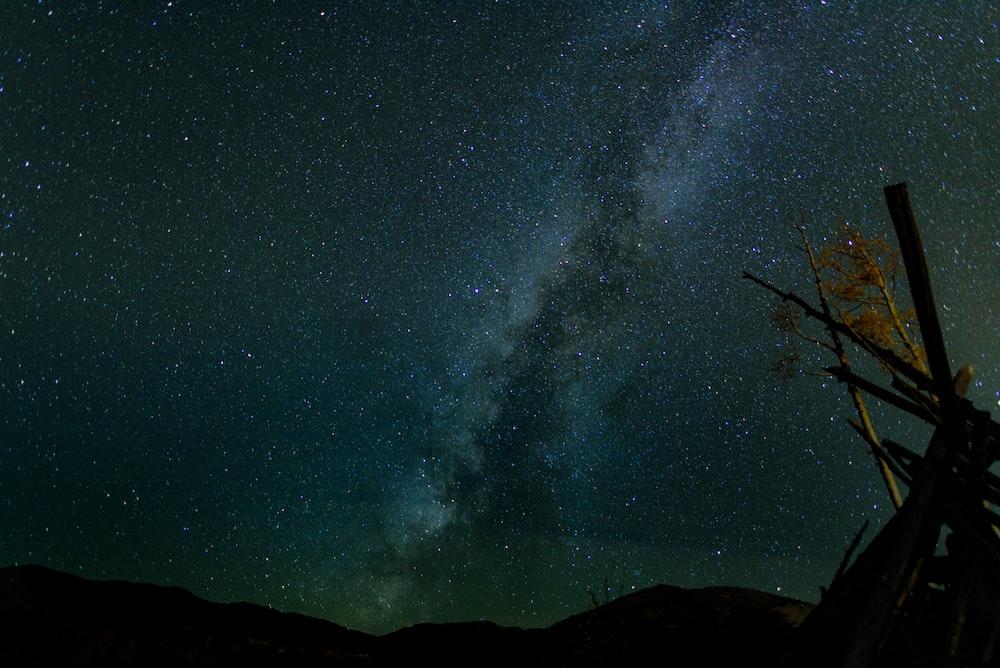 photo night sky