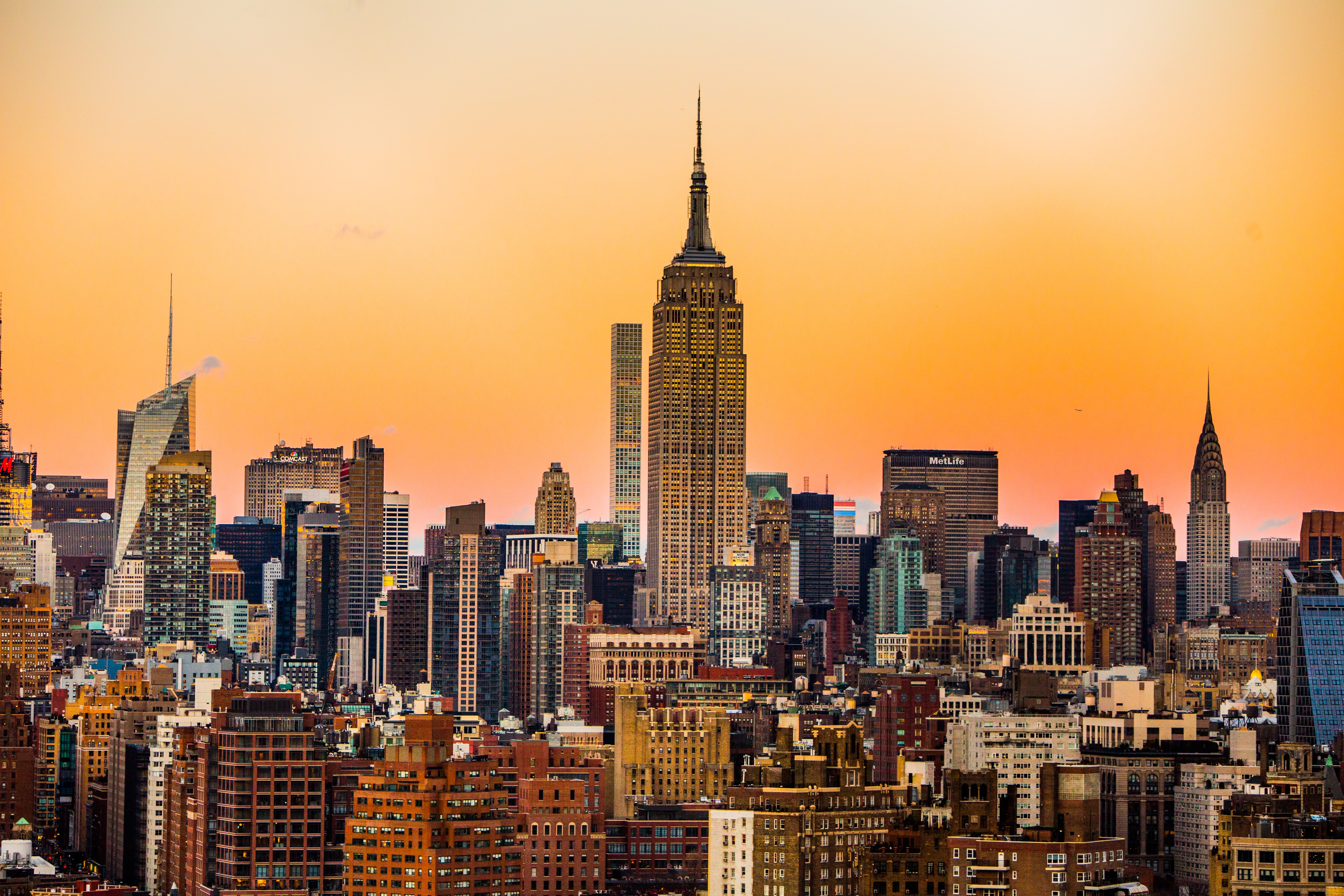 landscape photo of New York Empire State Building