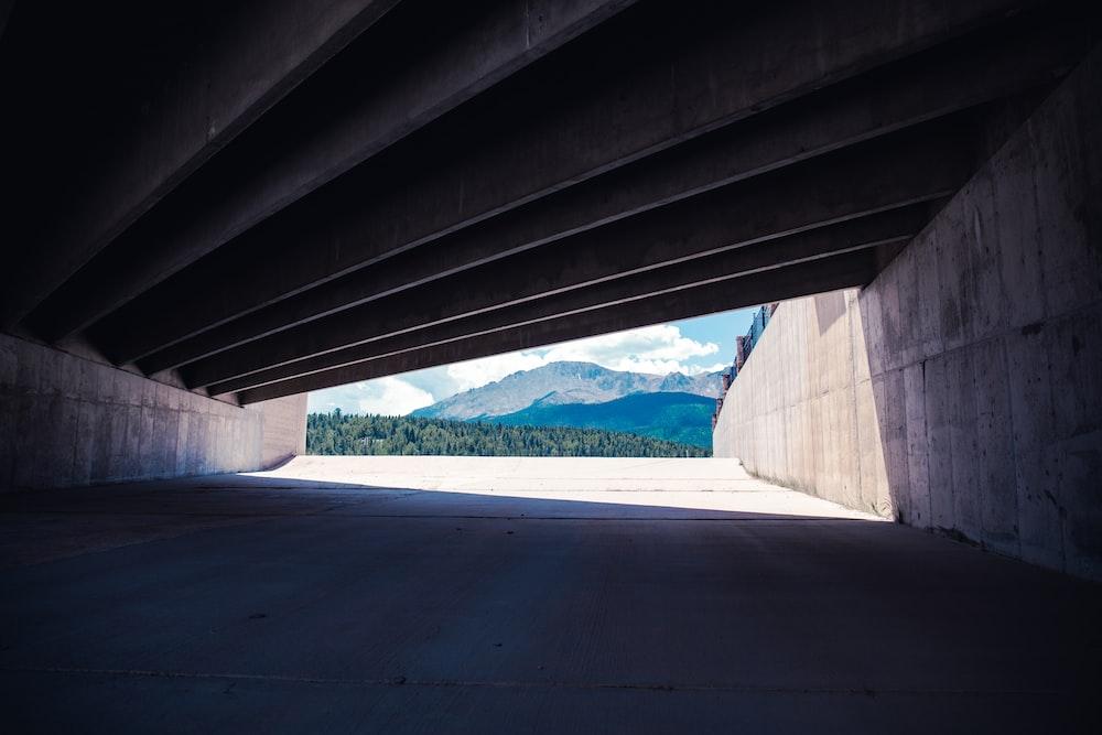 photo of gray concrete pathway