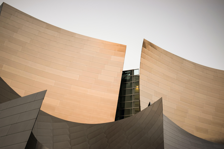 curve brown building architecture