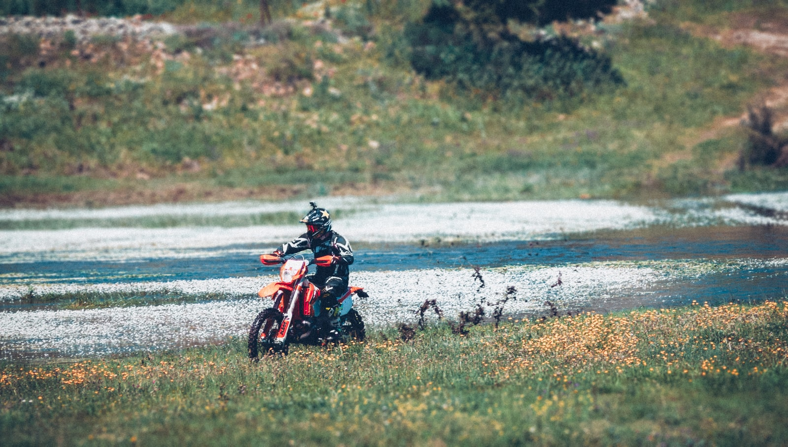 """Canon EOS 50D sample photo. """"Man riding motorcycle on"""" photography"""