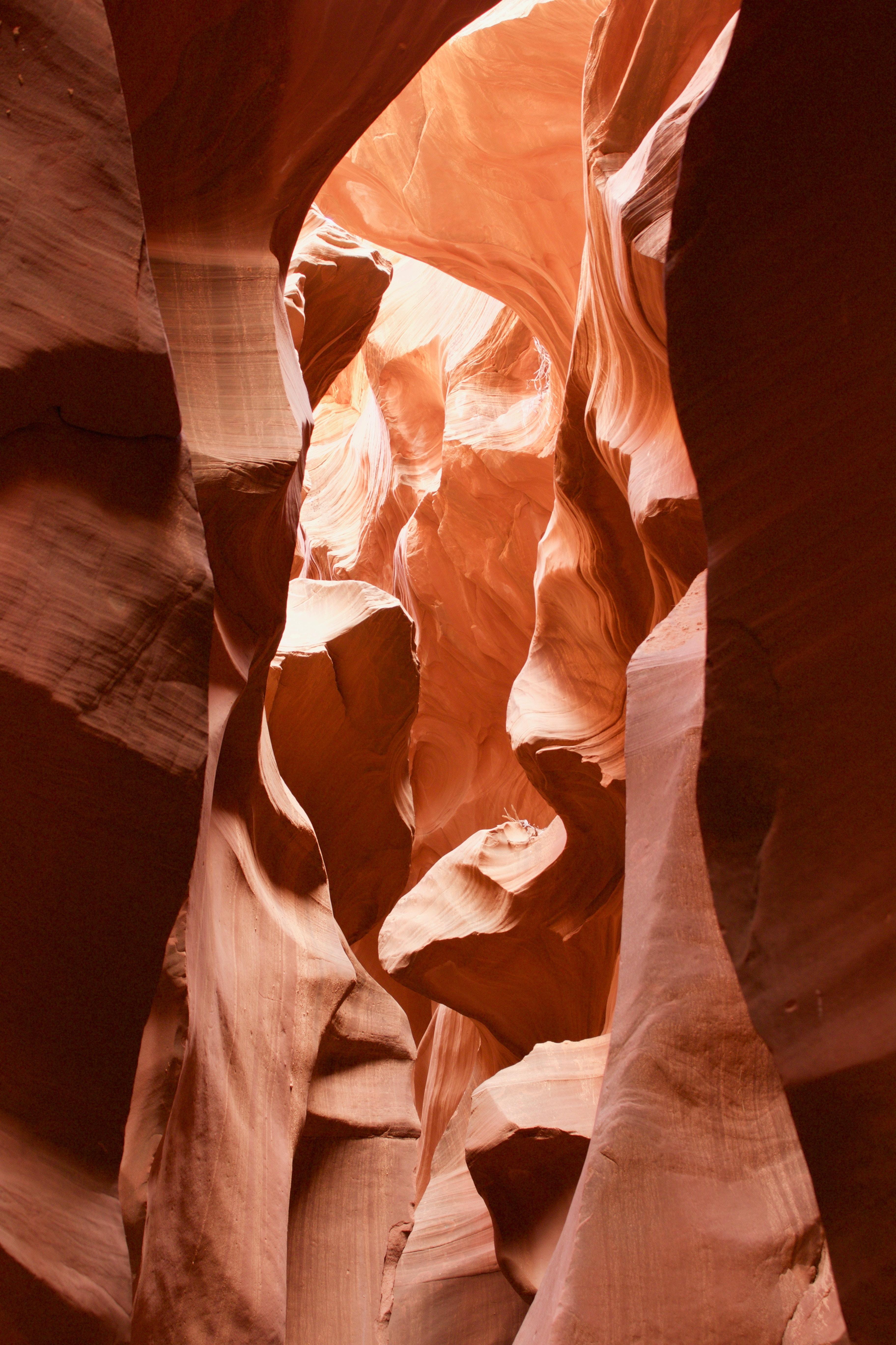 antelope canyon during daytime