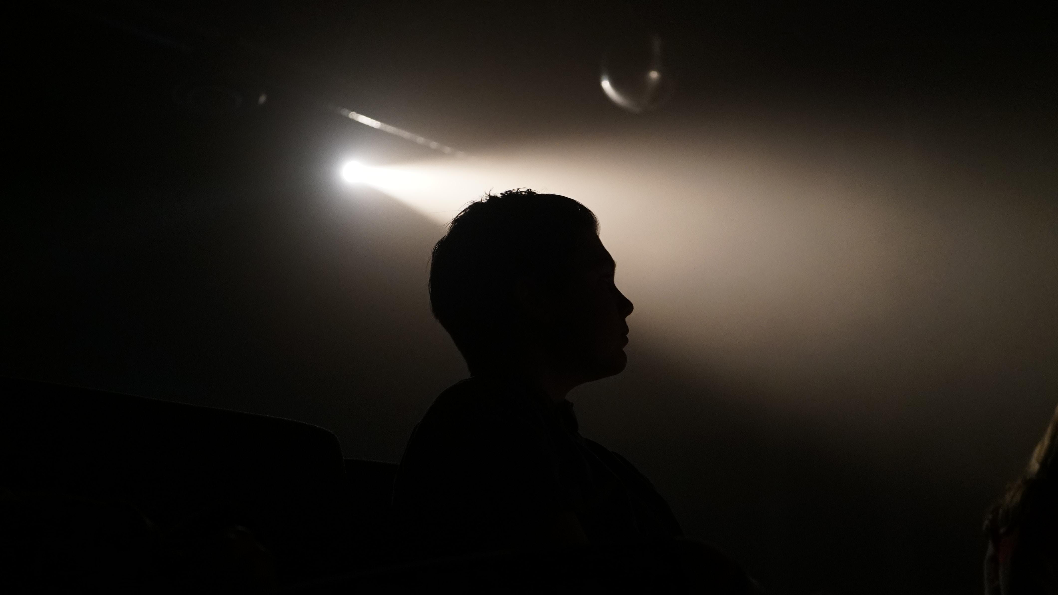 The silhouette of a person in Rancho Santa Fe