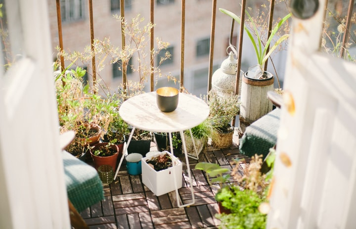 My Balcony - The Preserver of My Sanity