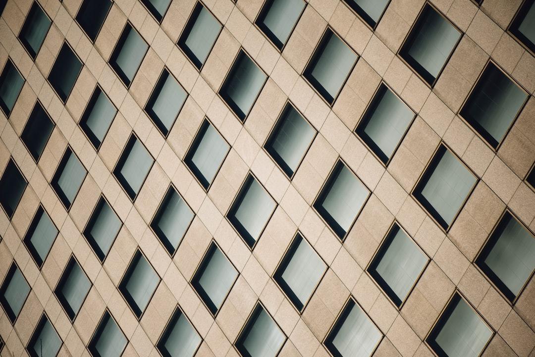 Diagonal Pattern Wall