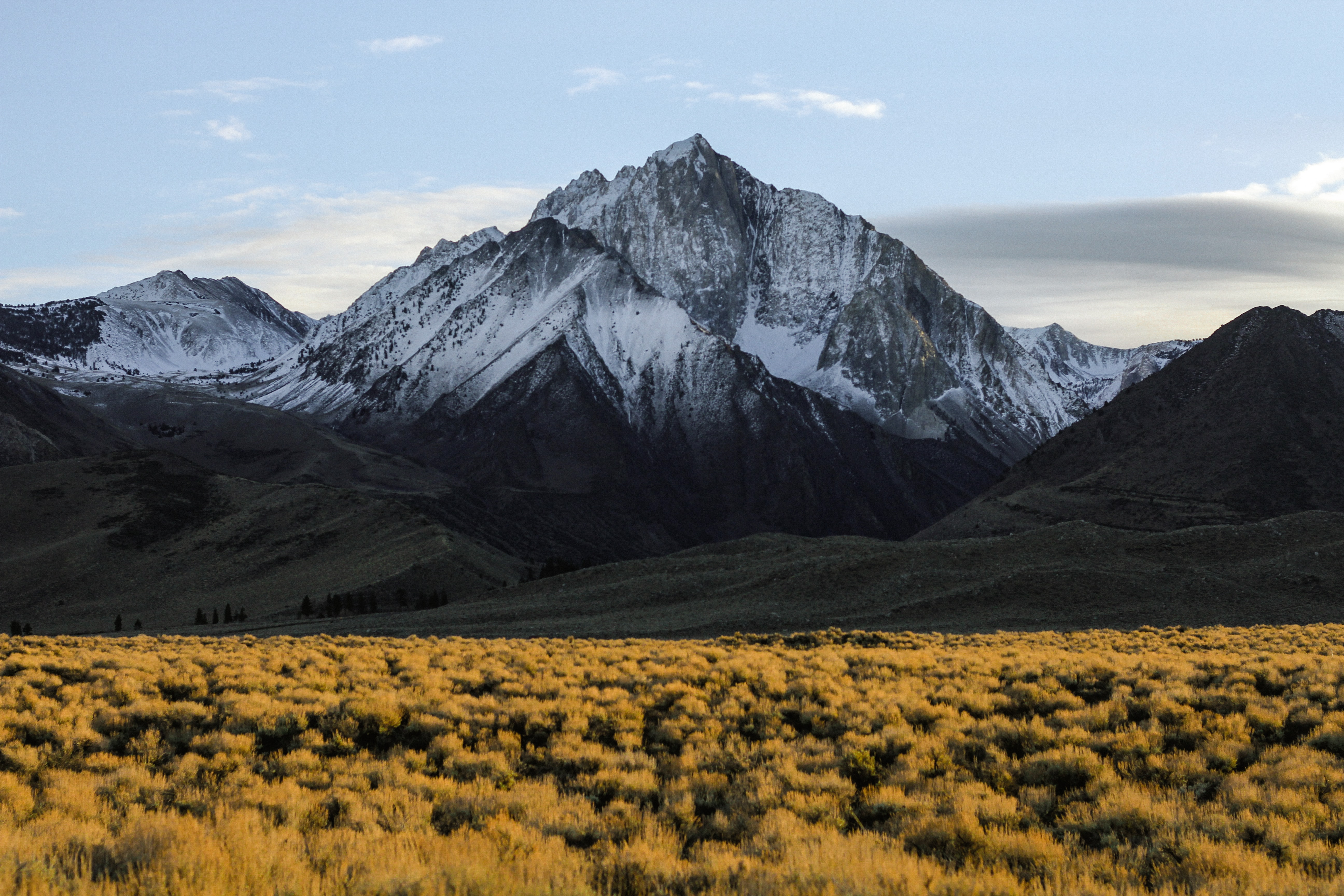 photography of a mountain during day time