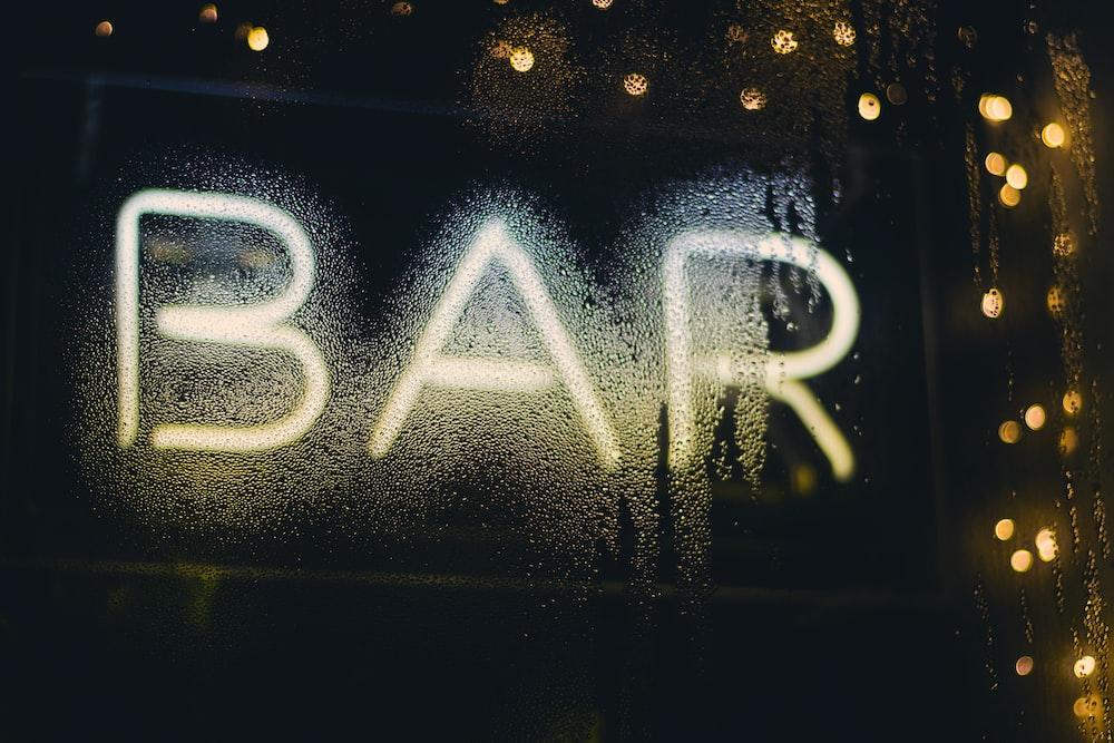 LED bar signage