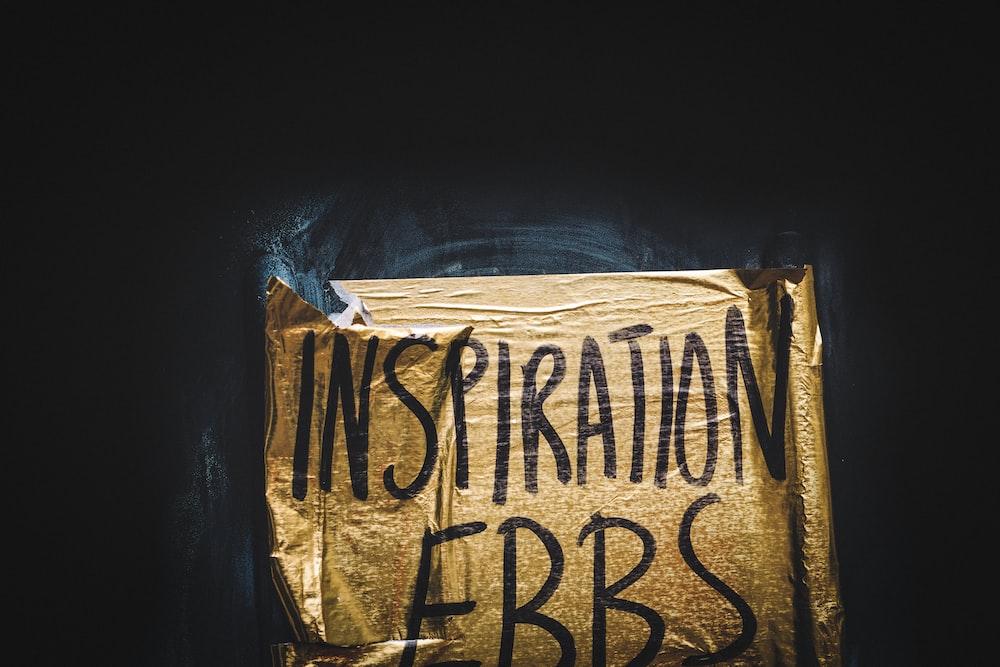 inspiration ebbs text