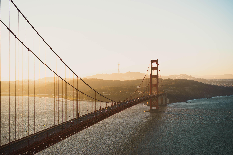 aerial shot photo of Golden Gate Bridge