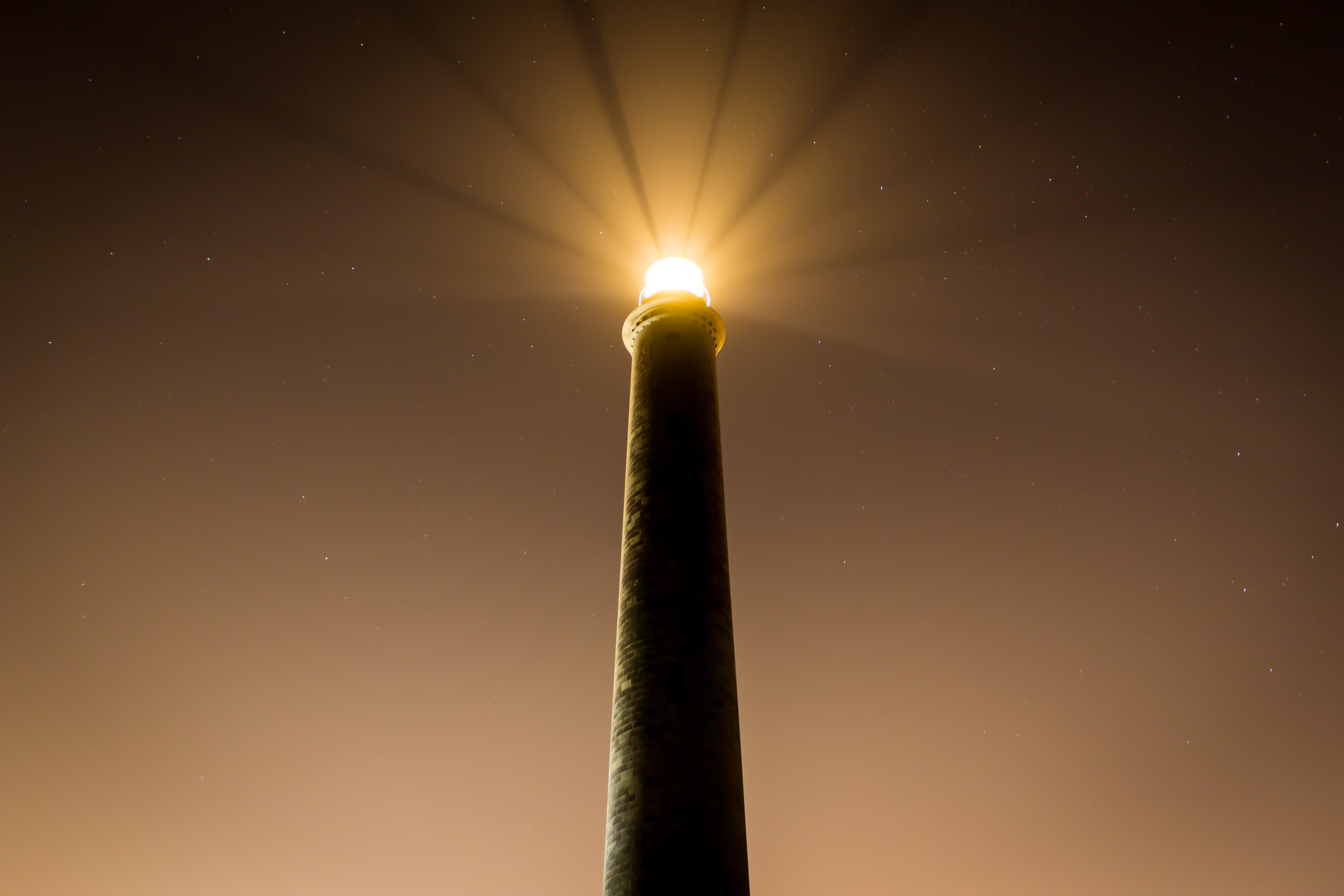 powered on lighthouse