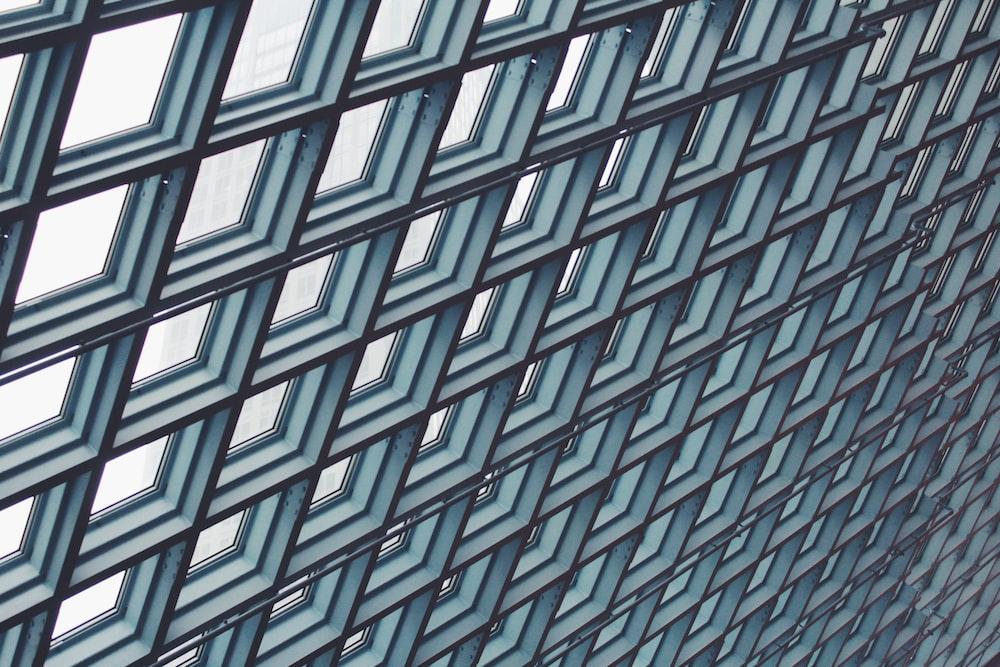 teal window ceilings during daytime