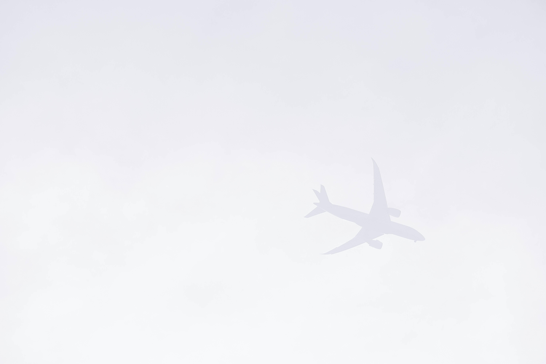 passenger airplane illustration
