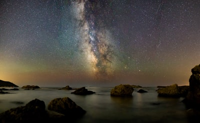 The summer night sky in Tuscany is something like this.