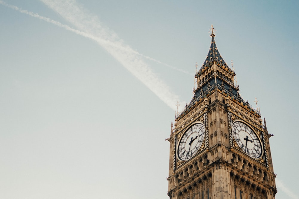 low-angle photography of Big Ben