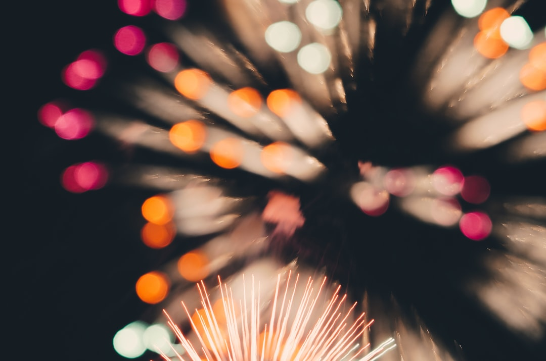 Firework blur