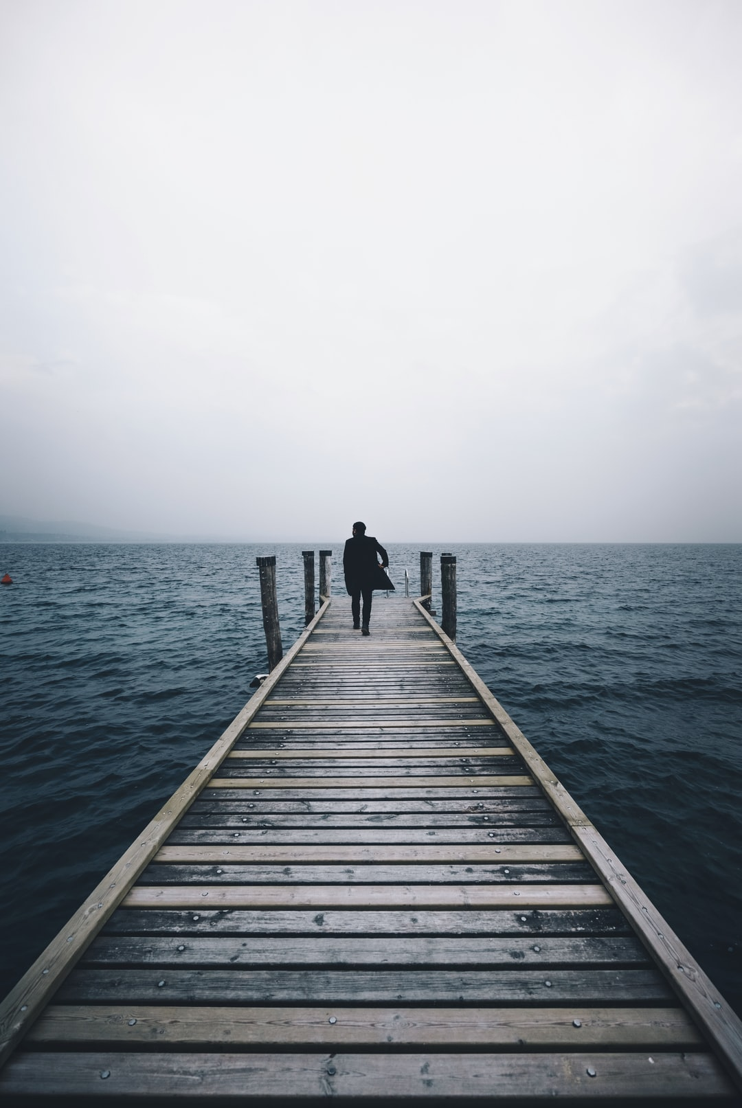 Walking Towards The Water