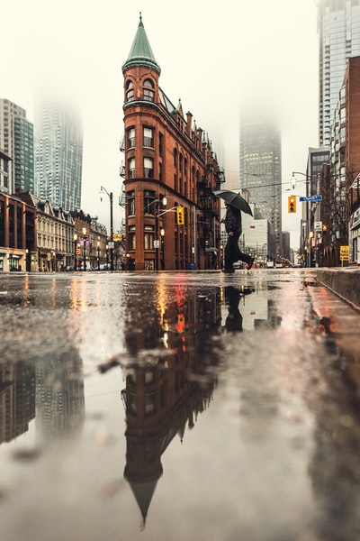 Toronto Flatiron Reflections
