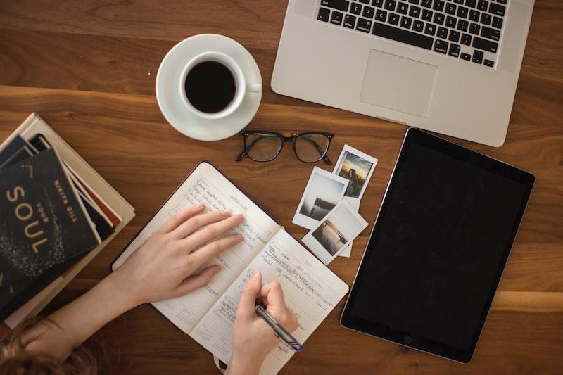每天寫作的題材在哪裡?