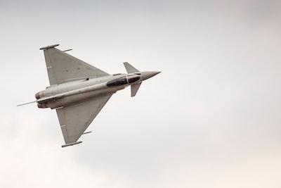 Beschreibung des Fotografen: Eurofighter Typhoon demo display team during Air Show